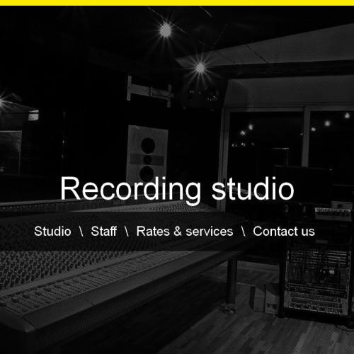 Recording Studio - Facebook HTML CMS Template