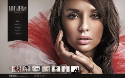 Model Portfolio Шаблон сайту