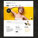 Art & Photography Website  Template 42616