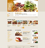 Food & Drink Website  Template 42620