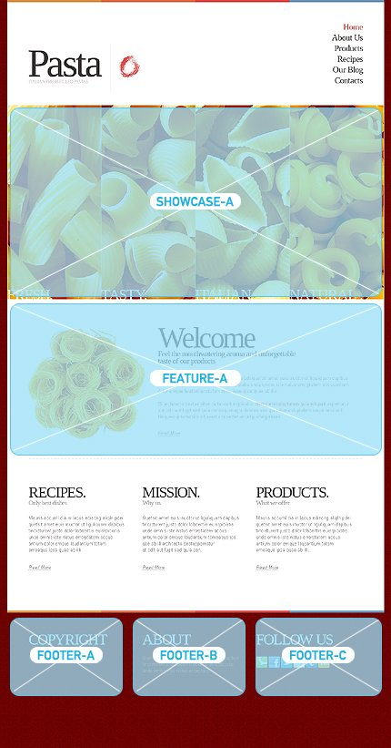 Joomla Theme/Template 42624 Main Page Screenshot