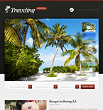 Travel Facebook  Template 42649