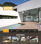 Architecture Joomla  Template 42661