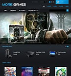 Games PrestaShop Template 42665