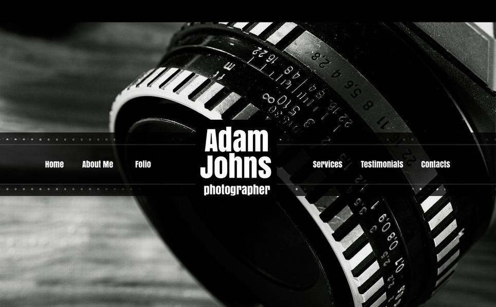 Prémium Fényképész portfóliók Fényképgaléria sablon New Screenshots BIG