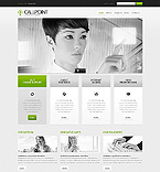 Communications Website  Template 42673