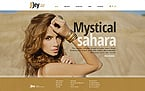 Jewelry Website  Template 42681