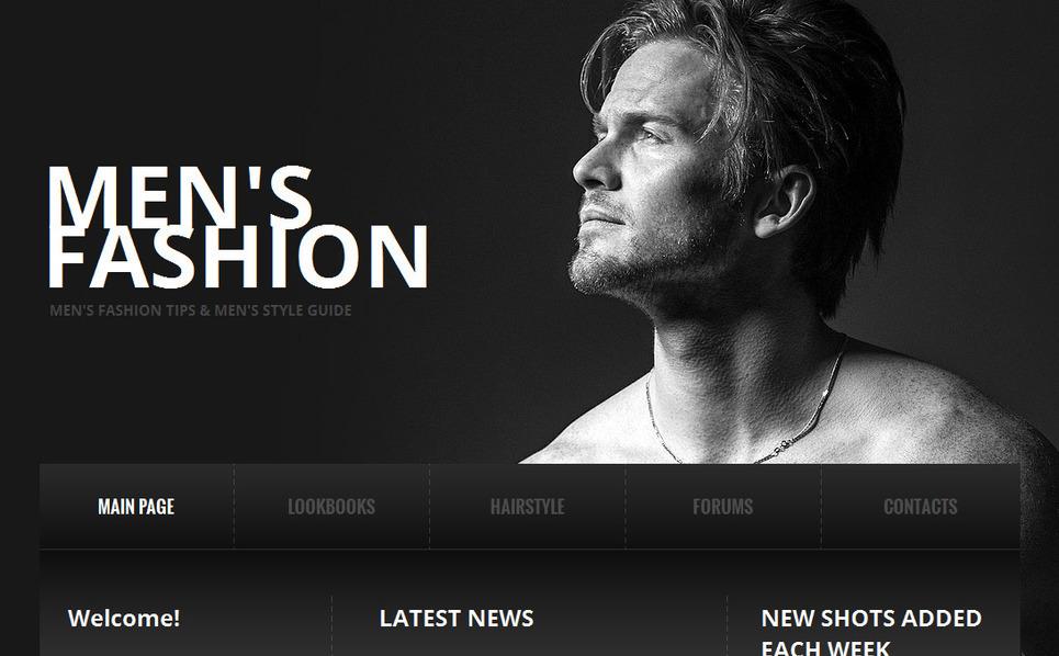 MotoCMS HTML шаблон №42692 на тему магазин одежды New Screenshots BIG