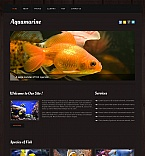 Animals & Pets Moto CMS HTML  Template 42693