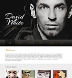 Personal Page Moto CMS HTML  Template 42694