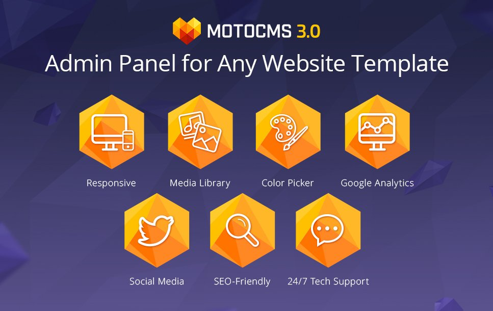 Business Services MotoCMS Widget