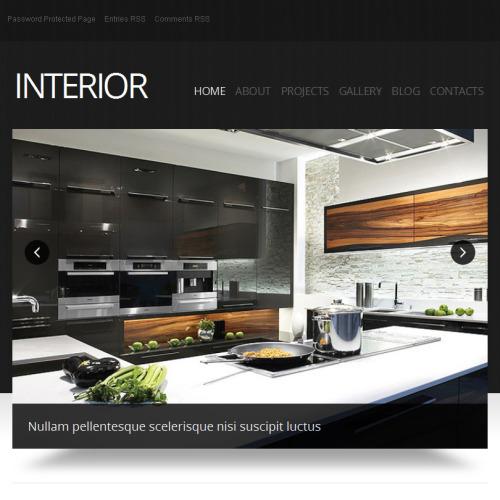 Interior  - Facebook HTML CMS Template