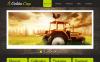 Prémium Mezőgazdasági  Moto CMS HTML sablon New Screenshots BIG