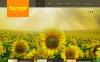 Szablon Moto CMS HTML #42698 na temat: rolnictwo New Screenshots BIG