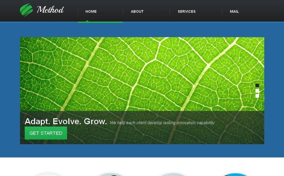 Plantilla Moto CMS HTML #42701 para Sitio de Negocio y Servicios New Screenshots BIG