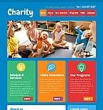 Charity Moto CMS HTML  Template 42705