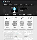 Web Hosting Moto CMS HTML  Template 42706