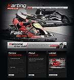 Sport Moto CMS HTML  Template 42720