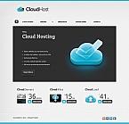 Web Hosting Moto CMS HTML  Template 42724