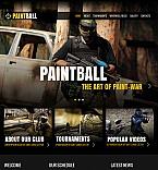 Sport Facebook HTML CMS  Template 42729