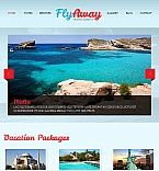Travel Facebook HTML CMS  Template 42730