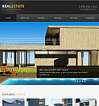 Real Estate Facebook HTML CMS  Template 42745