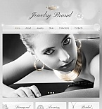 Jewelry Facebook HTML CMS  Template 42748