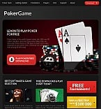 Casino Facebook HTML CMS  Template 42752
