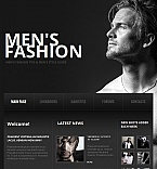 Fashion Facebook HTML CMS  Template 42753
