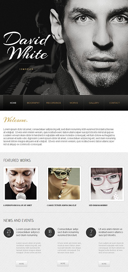 Website Template #42755