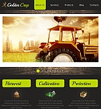 Agriculture Facebook HTML CMS  Template 42758