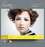 Beauty Facebook HTML CMS  Template 42759