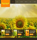 Agriculture Facebook HTML CMS  Template 42760