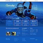 Sport Website  Template 42769