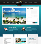 Hotels PSD  Template 42771