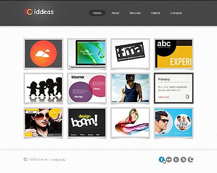 ADOBE Photoshop Template 42772 Home Page Screenshot