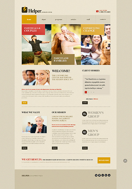 Website Template #42791