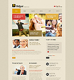 Charity Website  Template 42791
