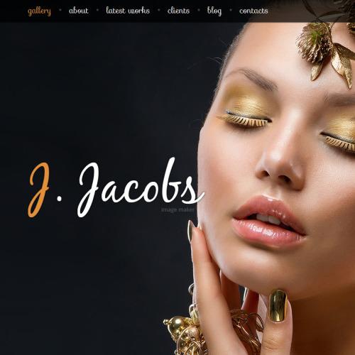 J Jacobs - Facebook HTML CMS Template