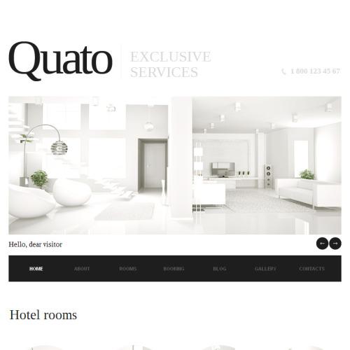 Quato - Facebook HTML CMS Template