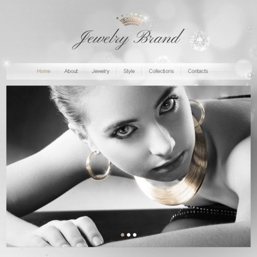 Jewelry Brand - Facebook HTML CMS Template