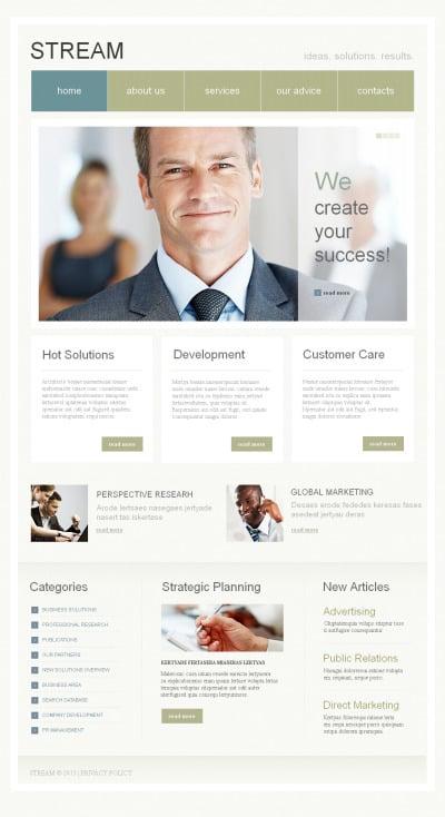 Business Moto CMS HTML šablona