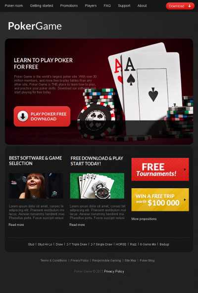 Category/online Poker for kids