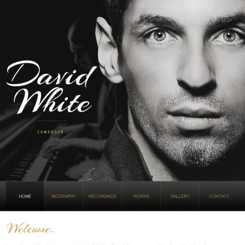 David White - Facebook HTML CMS Template
