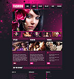 Fashion Website  Template 42806