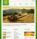 Agriculture Website  Template 42807