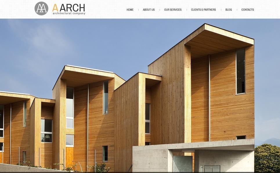 建筑术Joomla模板 New Screenshots BIG