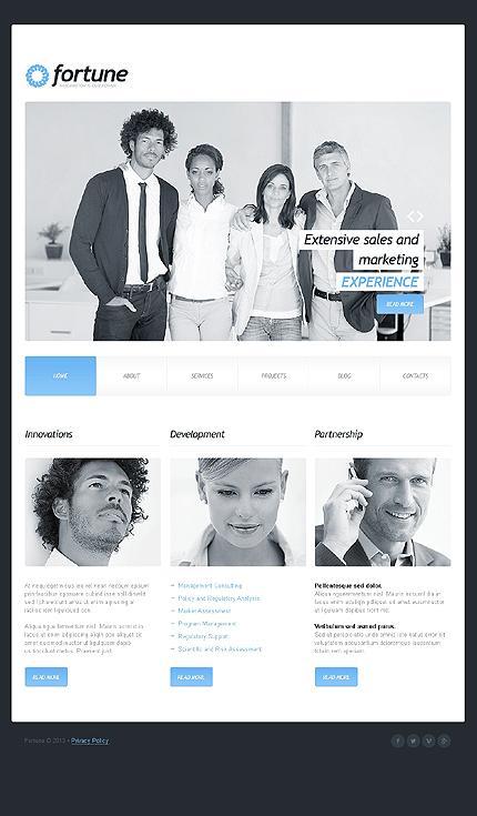 Joomla Theme/Template 42826 Main Page Screenshot