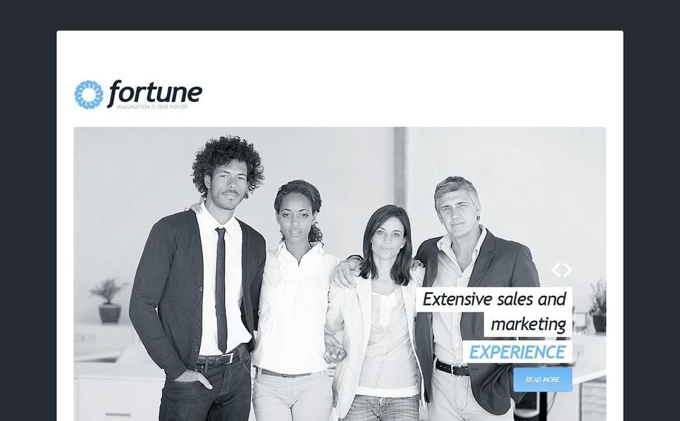 Joomla шаблон на тему реклама New Screenshots BIG