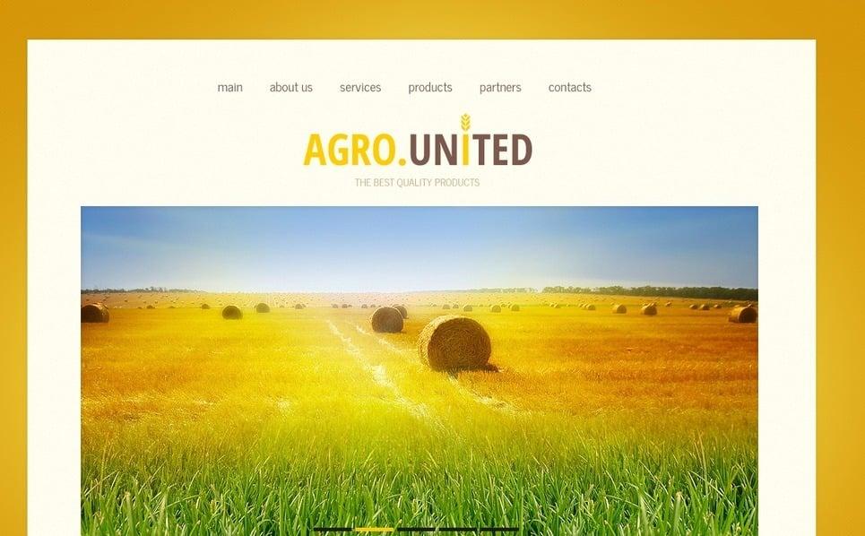 农业相关网站网页模板 New Screenshots BIG